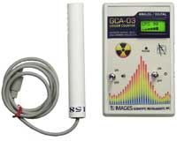 Digital Geiger Counter with RS-232 Output, NRC Calibration Certification Available