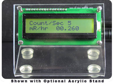 DMAD-Lead - Digital Meter Adapter for Analog Geiger Counters
